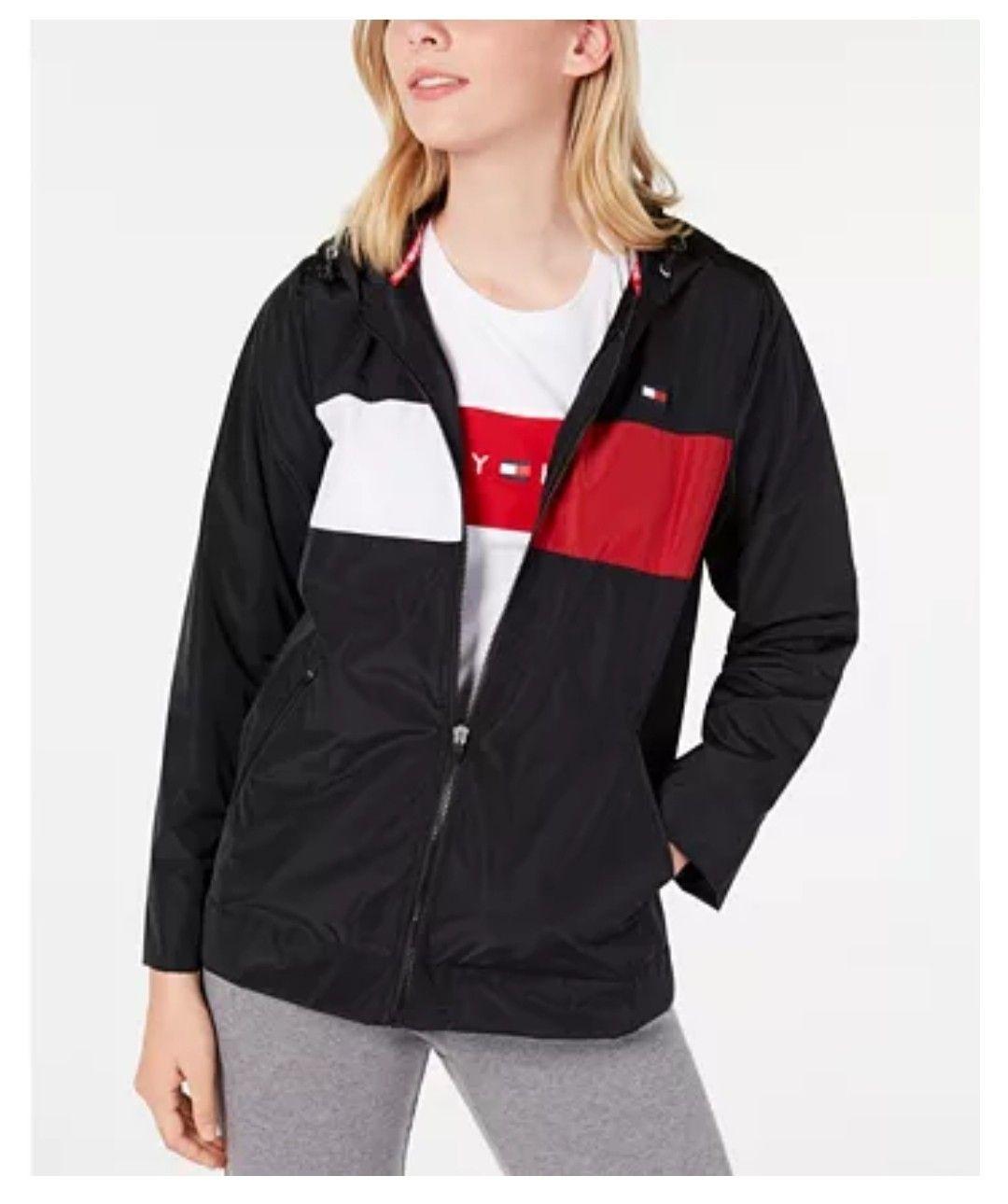 Pin By S N On Athleisure Blazer Jackets For Women Tommy Hilfiger Windbreaker Windbreaker