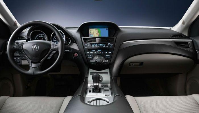 2016 Acura ZDX Interior