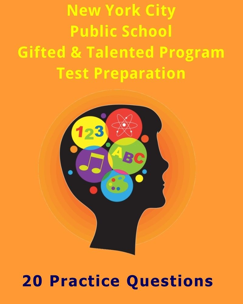 Nyc gifted talented program practice questions