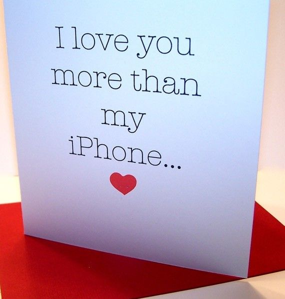 Card for the one I ♥