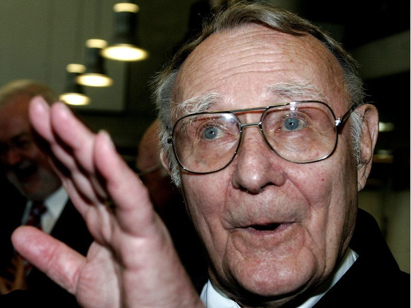 Ikea founder ingvar kamprad dies at 91 founder news