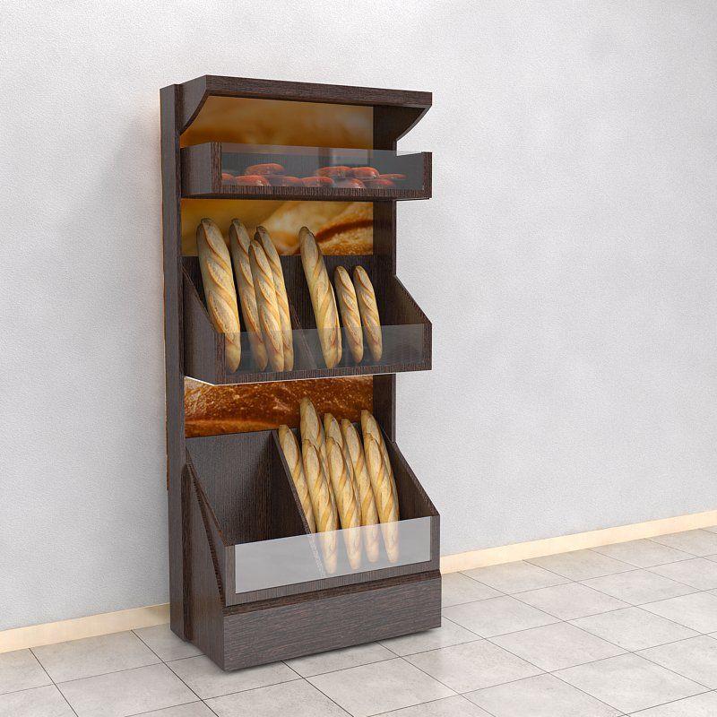 Conjunto de mueble para panader a o similar realizado en for Mueble realizado con palet de madera