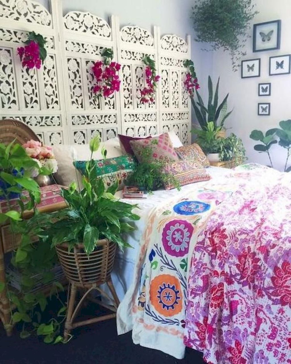 75 Modern Bohemian Bedroom Decor Ideas #modernbohemianbedrooms