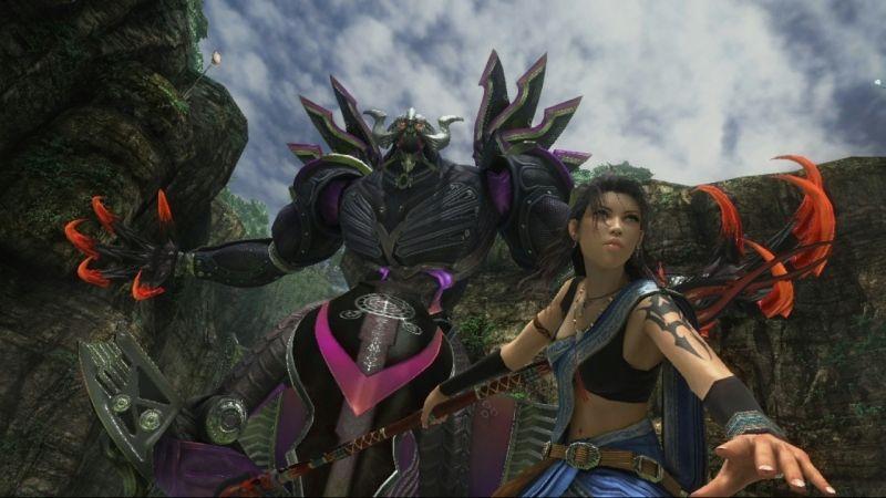 Oerba Yun Fang Bahamut Final Fantasy Final Fantasy Fang