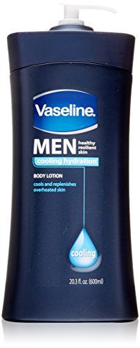 Vaseline Men Healthy Resilient Skin Colling Hydration Body Lotion