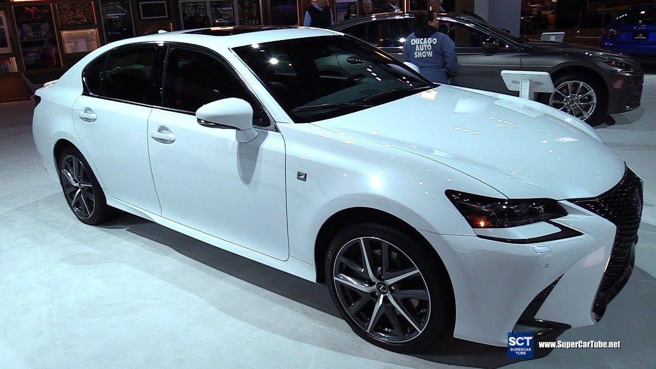 2018 Lexus GS 350 F Sport Exterior and Interior