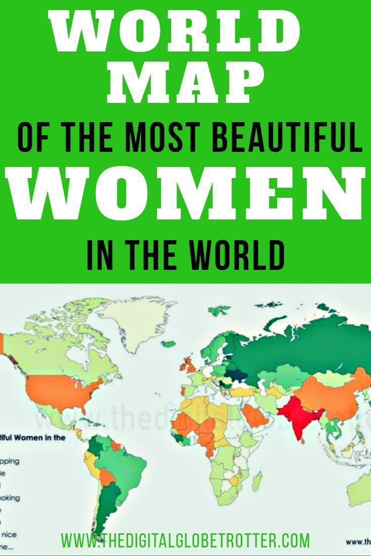 What countries have the hottest women