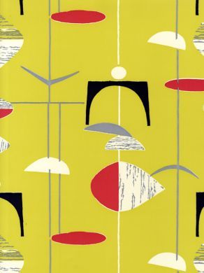 Love The Colour Combination On This One. Sanderson 50s Wallpapers (210213)  | Mid Century Design U0026 Fabric | Pinterest | Wallpaper, Mid Century And  Patterns