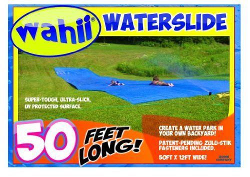 Wahii Waterslide 50 - World's Biggest Backyard Lawn Water Slide! iZoomLLC,http://www.amazon.com/dp/B002L39QE0/ref=cm_sw_r_pi_dp_plAYsb1HYQKDGQ5X