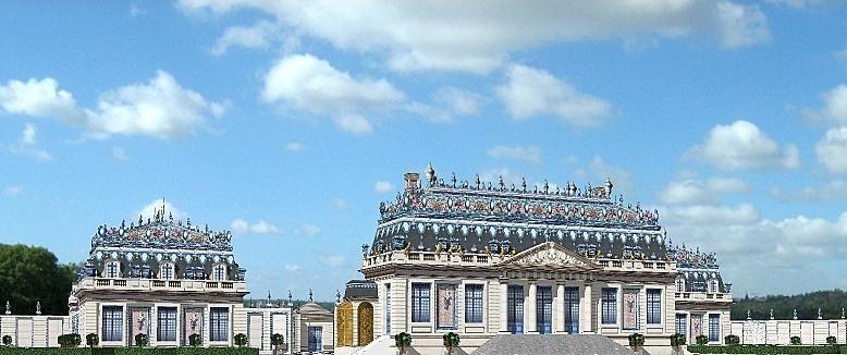 Le Trianon de Porcelaine   Versailles, Trianon, Le grand trianon