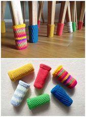 Comment faire des chaussettes en laine et arrêter de rayer le sol   – Croche