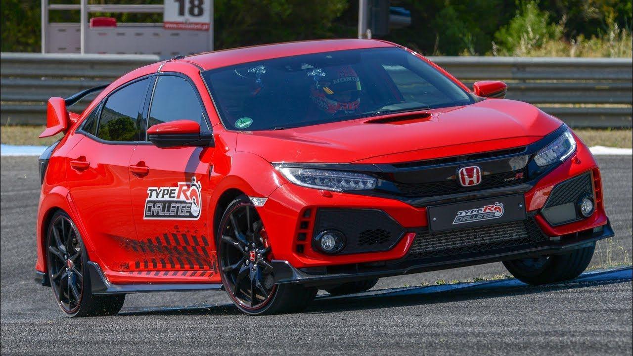 2018 Honda Civic Type R lap record at Estoril, driven by