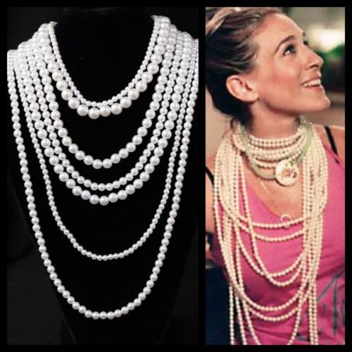 Get-The-Look-White-Layered-Faux-White-Pearl-Necklace-TS