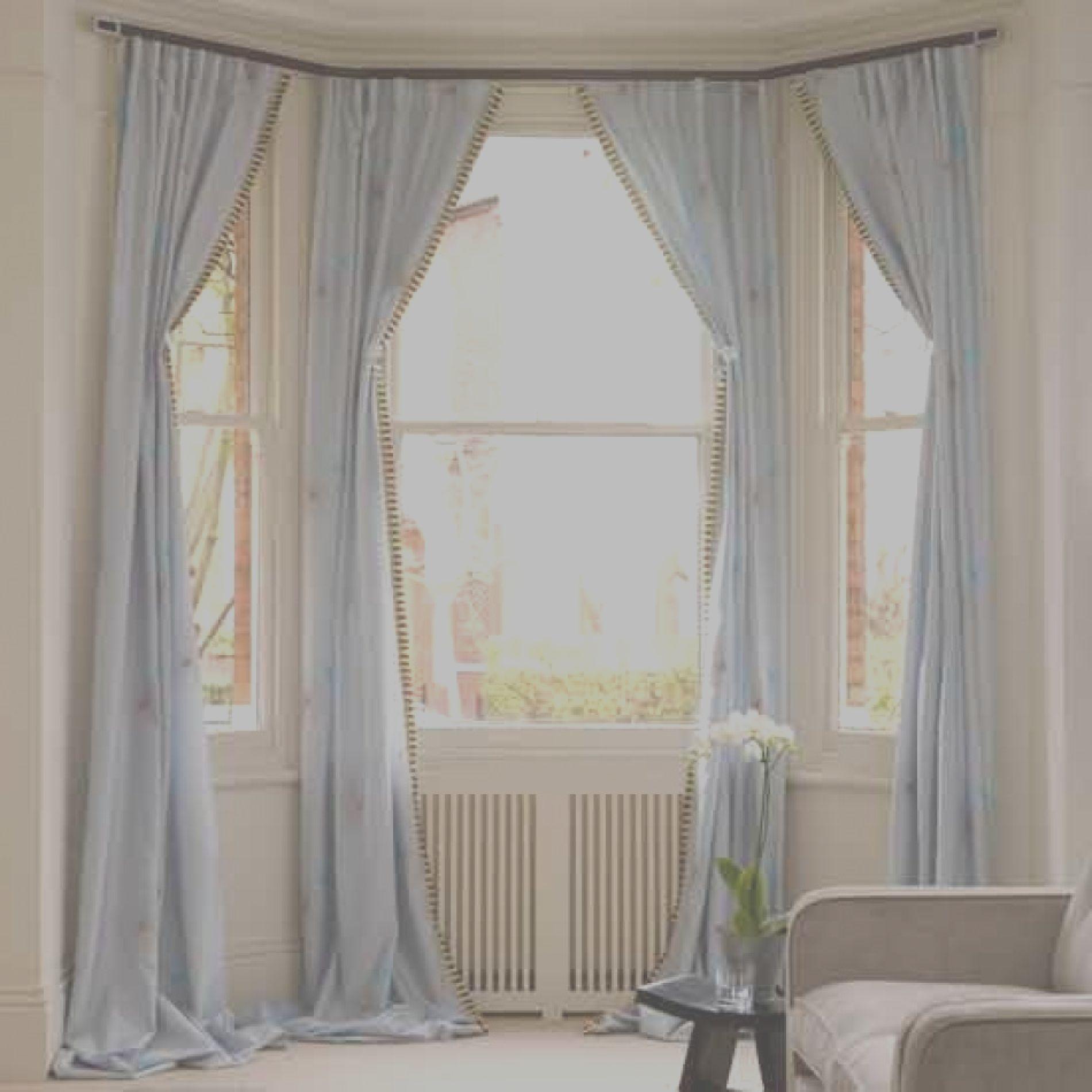 Beautiful Bow Window Curtains