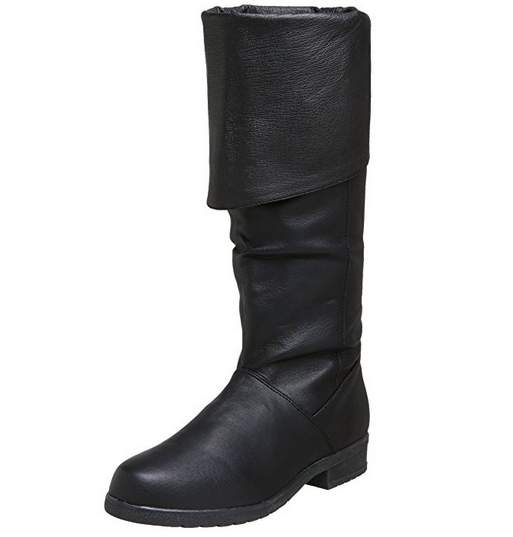 Details about  /Medieval Leather Boots black Re-enactment Mens Shoe Larp Role Play Costume Boot