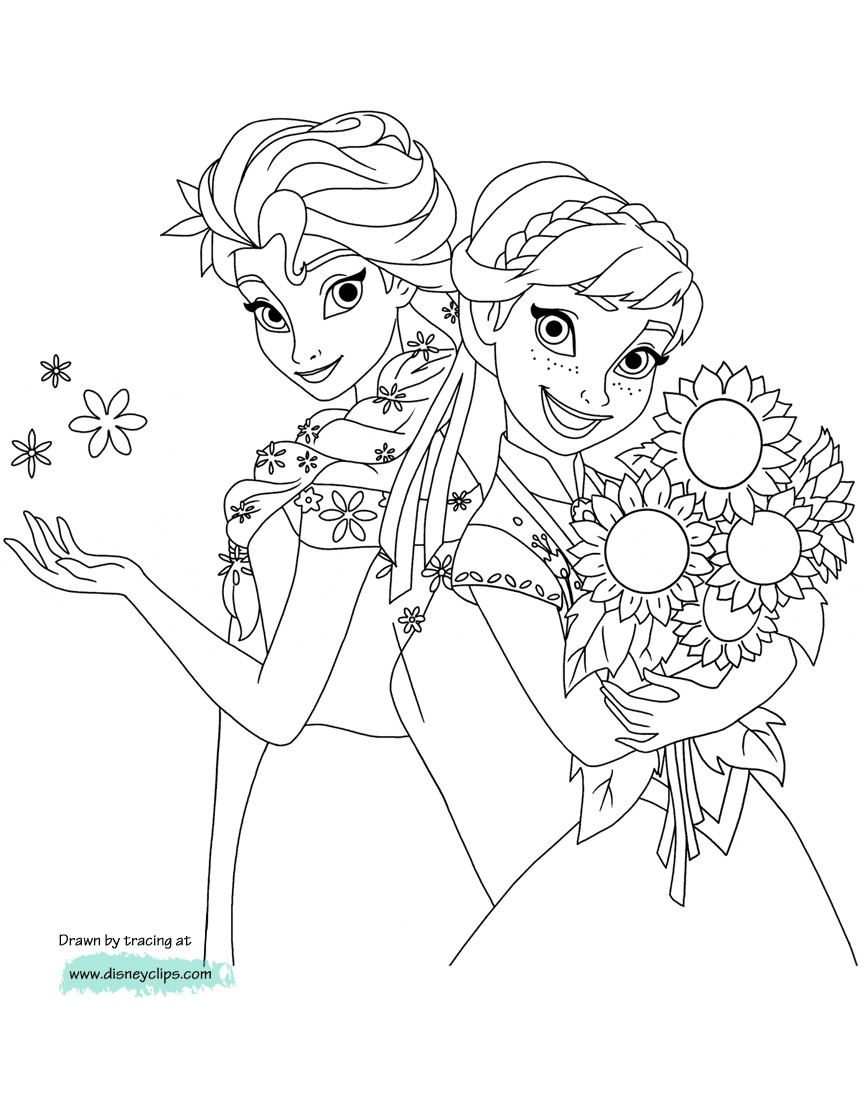 Elsa Coloring Pages Anna And Disneys Frozen 2 Endearing For Kids Elsa Coloring Pages Frozen Coloring Frozen Coloring Pages