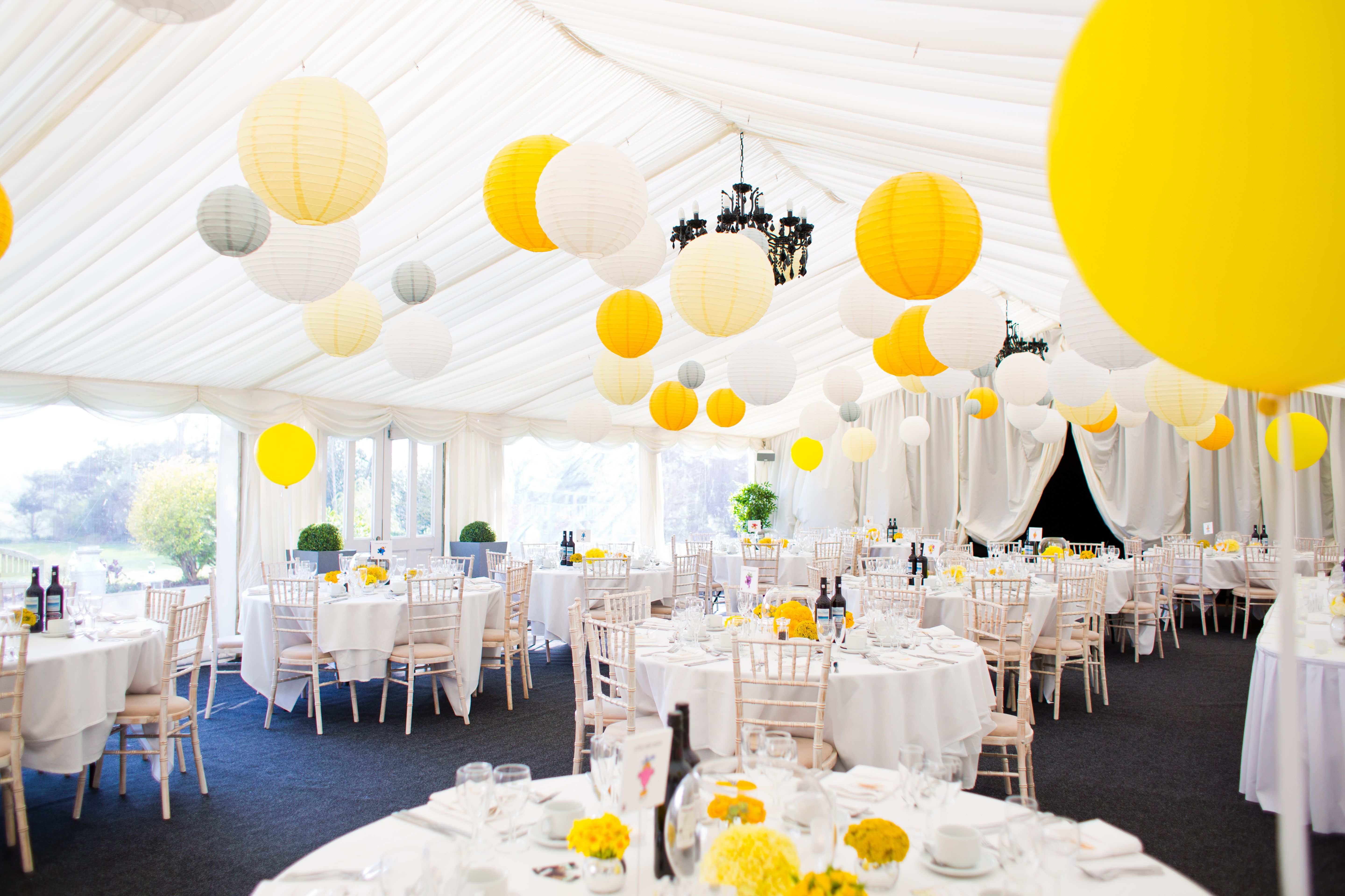 Bring the summer sunshine inside by combining white, ivory and ...