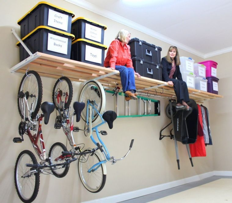 13 Creative Overhead Garage Storage Ideas You Should Know