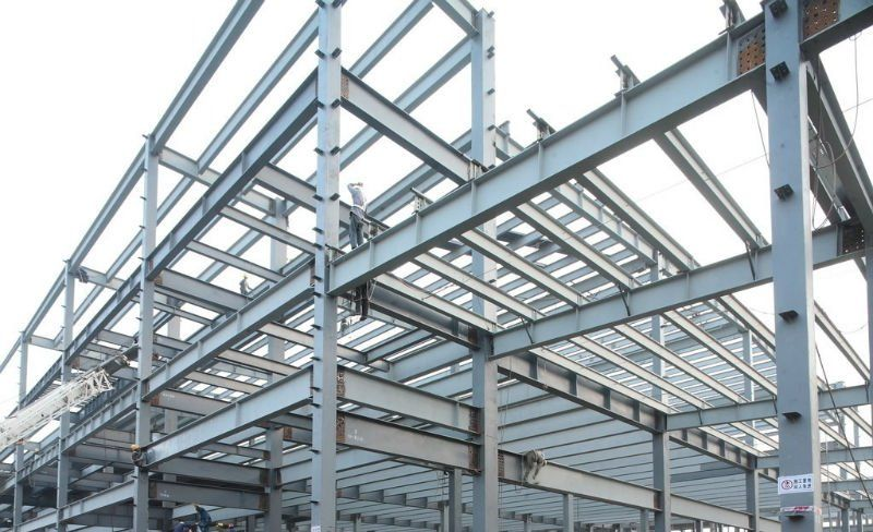 Steel Frame Work : Hot rolled structural steel h beam buy scrap