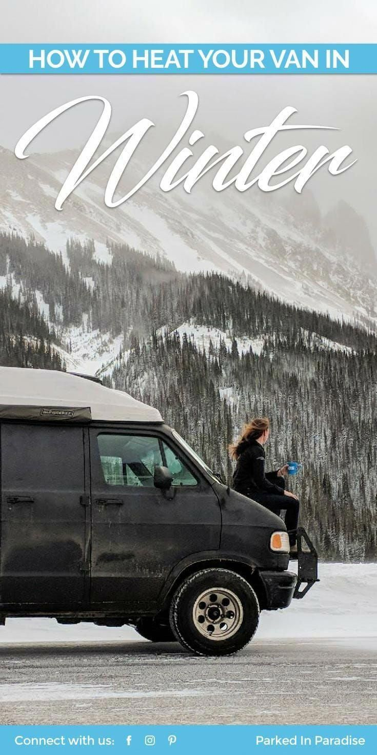 Top 5 #vanlife hacks to stay warm in winter. Find out the ...
