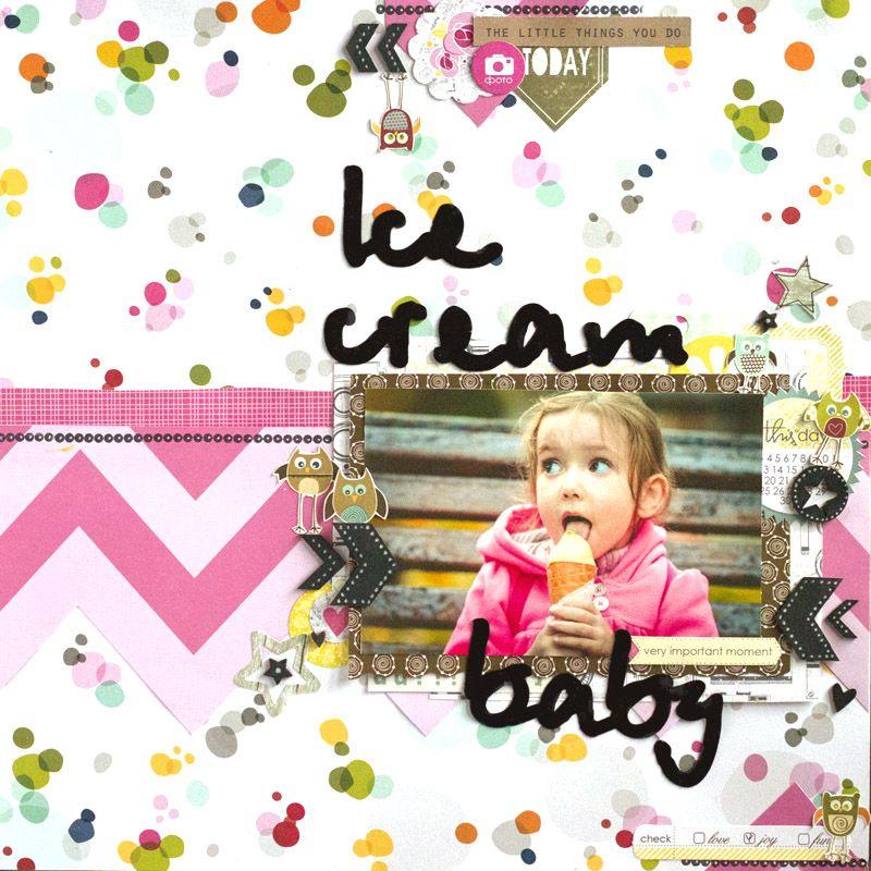 Бумага-Марака: Ice cream baby LO или возвращение блудного попугая
