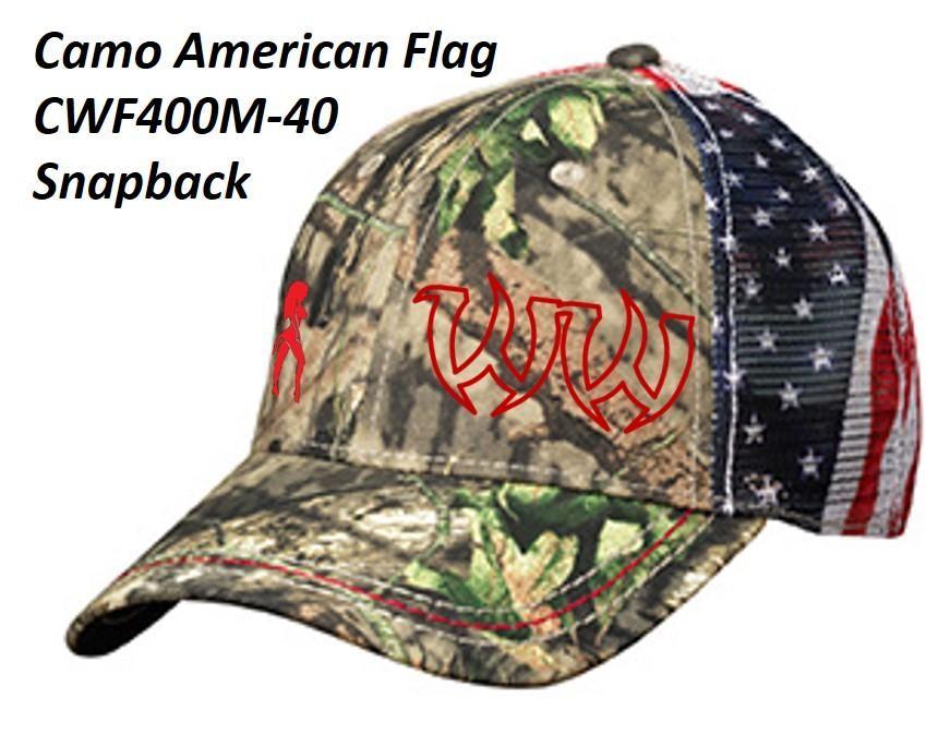 Hat - Patriotic Designs - MossyOakFlag