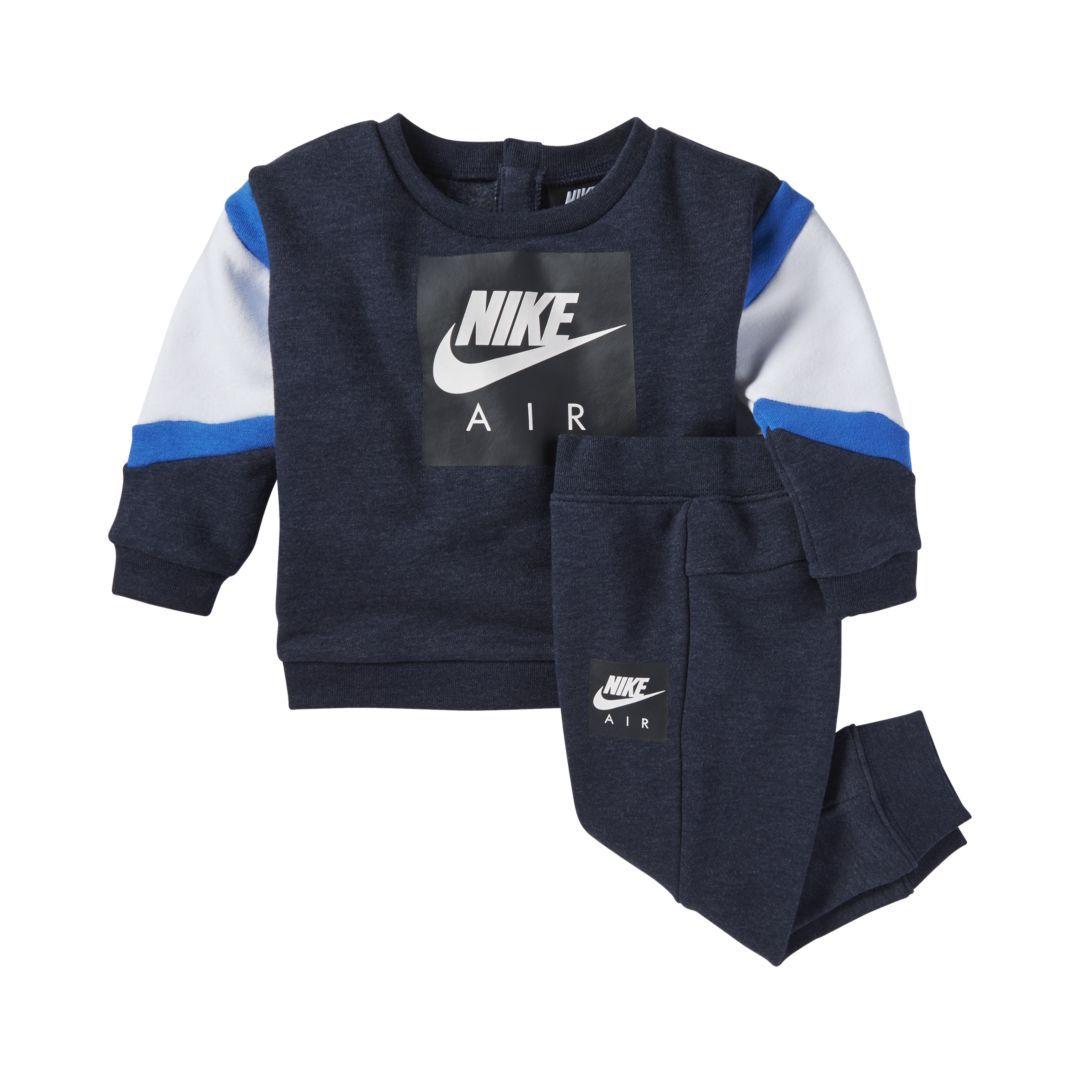 c97971d78aeb0 Nike Infant 2-Piece Set Size 12M (Obsidian Heather)