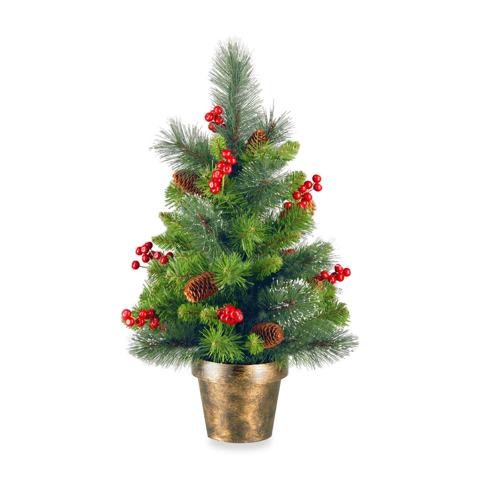 National Tree Company 2-Foot Crestwood Spruce Tree | christmas ideas ...