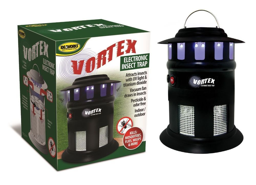 Vortex Electronic Insect Trap Mosquito Killer Bug Co2 Attacks Indoor