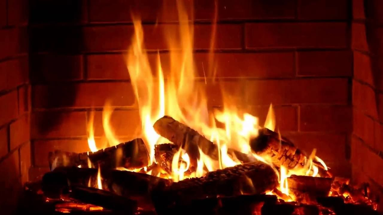 Full Hd Fireplace Screensaver Camino Fuoco Natale X Mas Christmas Non Fa Fumo Caminetto - Fuoco Caminetto Virtuale
