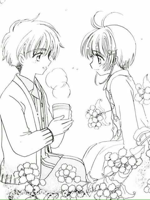 Shaoran and Sakura | Shaoran x Sakura | Pinterest | Shaoran, Mi ...