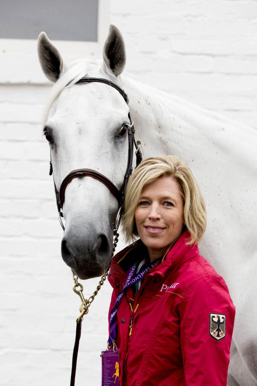 Meredith Michaels-Beerbaum und ihr derzeit bestes Pferd ...