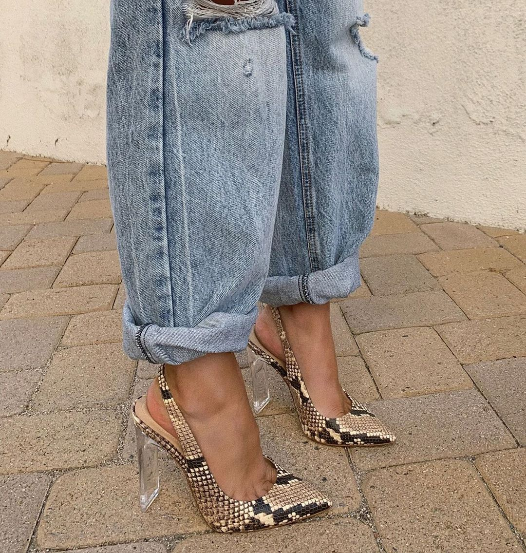 "Photo of ALDO shoes on Instagram: ""On her way to slay the day. Shop @briknopf show-stopping stilettos Feiwias in bio. #AldoCrew #AldoShoes"" – The higher the heel….."