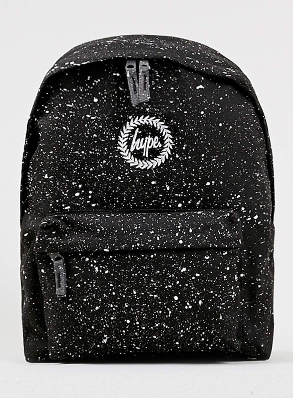 Hype Black Speckle Backpack*