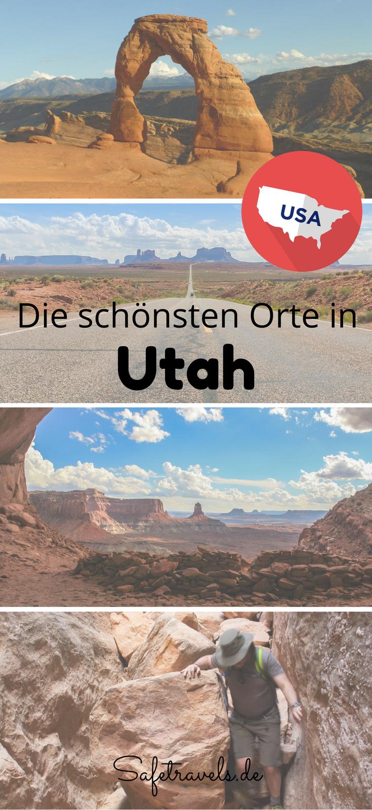 Utah Amerika Reisen Usa Reise Reisen