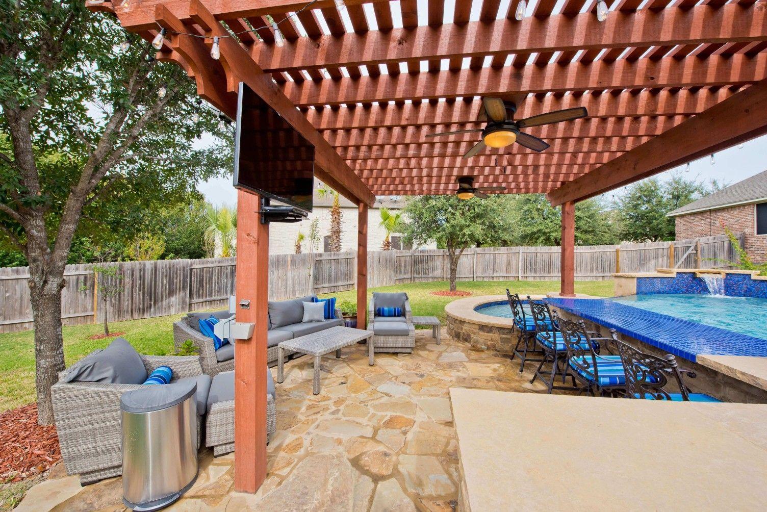 Austin Outdoor Living Photos Outdoor Kitchens Fireplaces San Antonio Pergola Outdoor Living