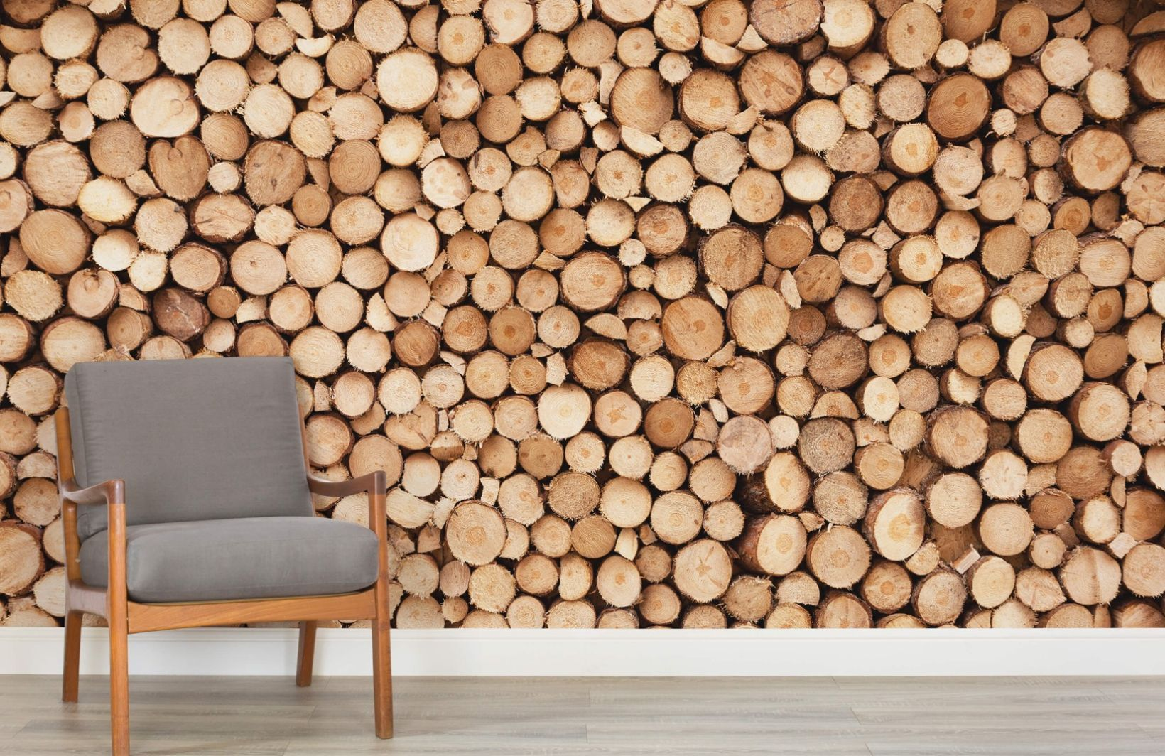 Logs Wallpaper Norweigan Wood Design Muralswallpaper Log Wallpaper Mural Wallpaper Wood Wallpaper