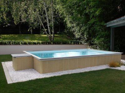 Article - Piscine ZENDO  la nouvelle piscine hors-sol - realiser une piscine en beton