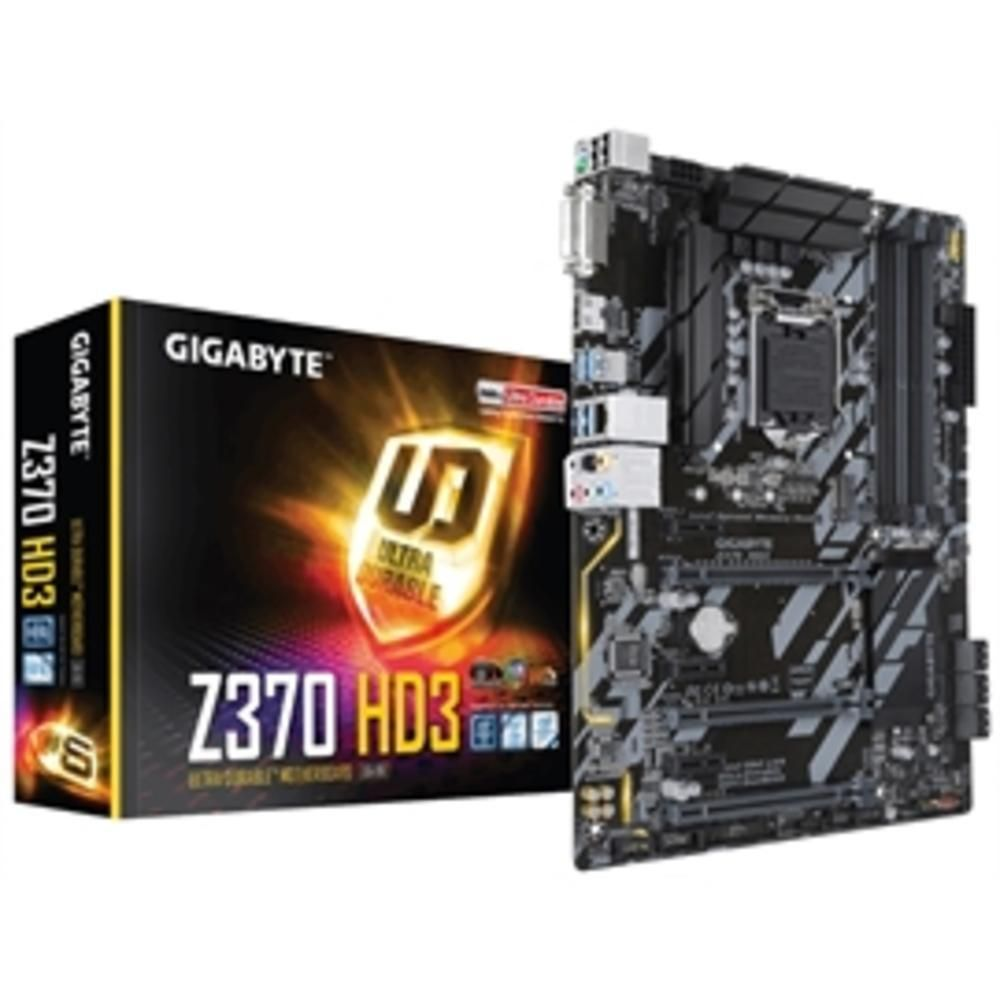 Gigabyte Motherboard Z370 Hd3 Intel Z370 Ultra Durable Motherboard With Crossfire Support Intel Gbe Lan With 25kv Protection M In 2019 Computer Accessories