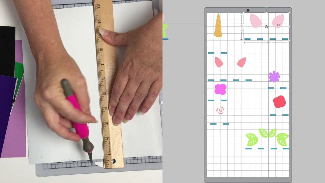 Multicolored layered decal tutorial tutorial