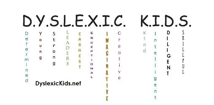 """Dyslexic Kids"" are so much more than their dyslexia!"