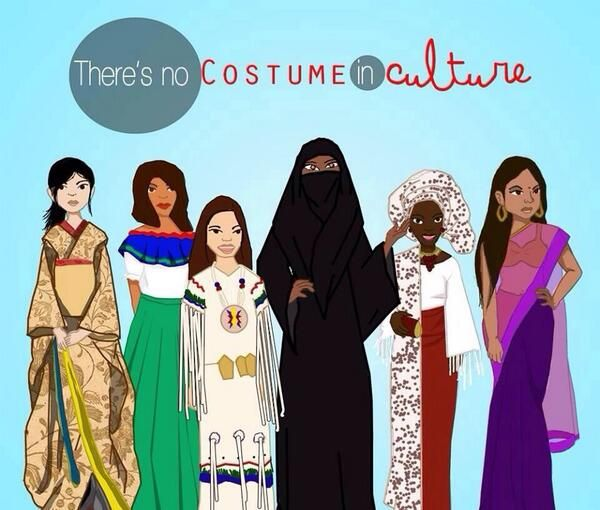 There's No Costume In Culture. #sociology