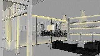 Nulty - Residential Interior Modern Minimalist Living Space Lighting Design