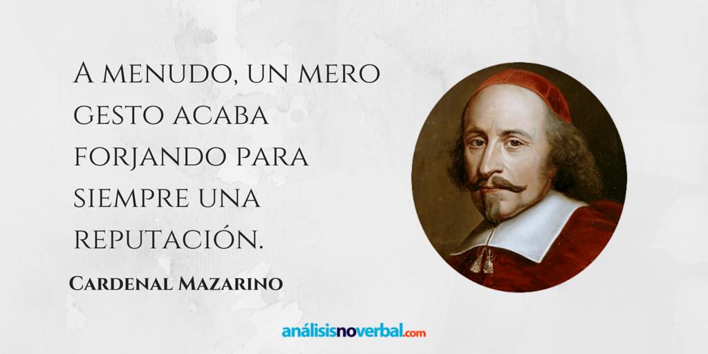 Cita Del Cardenal Mazarino Que Ya Intuía En En El Siglo