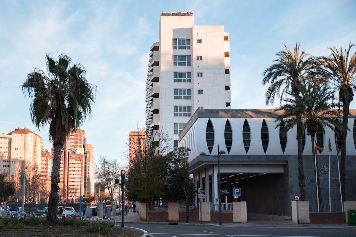 Hotel Medium Valencia Spain Review Palm Trees Swimming Pools