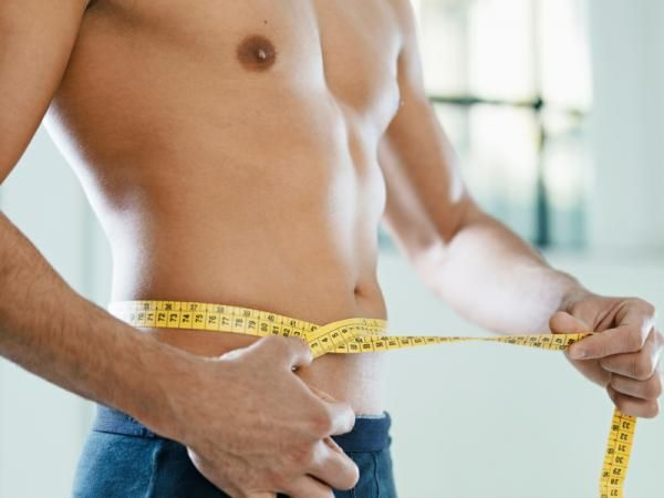 Hombre baja de peso