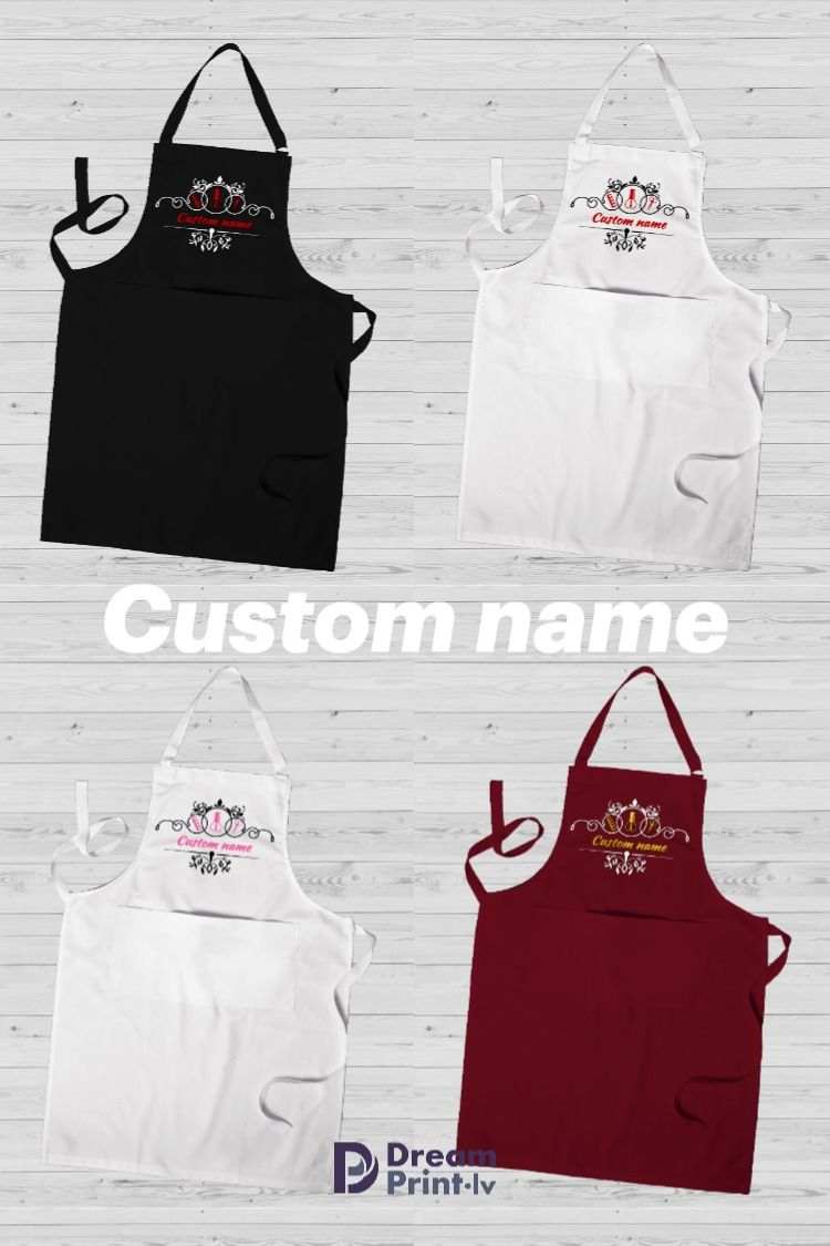 Personalized nail technician apron, manicurist gift