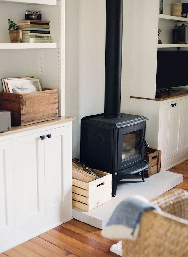 modern wood stove - for friendly advice on wood burning stoves, contact www.Stovesonline.co.uk