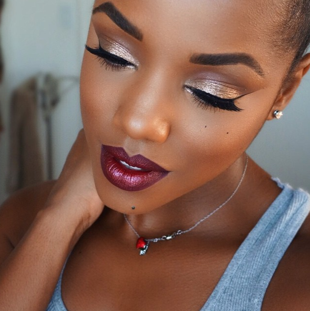 Stunning Holiday Makeup Ideas for Black Women   Best Holiday ...