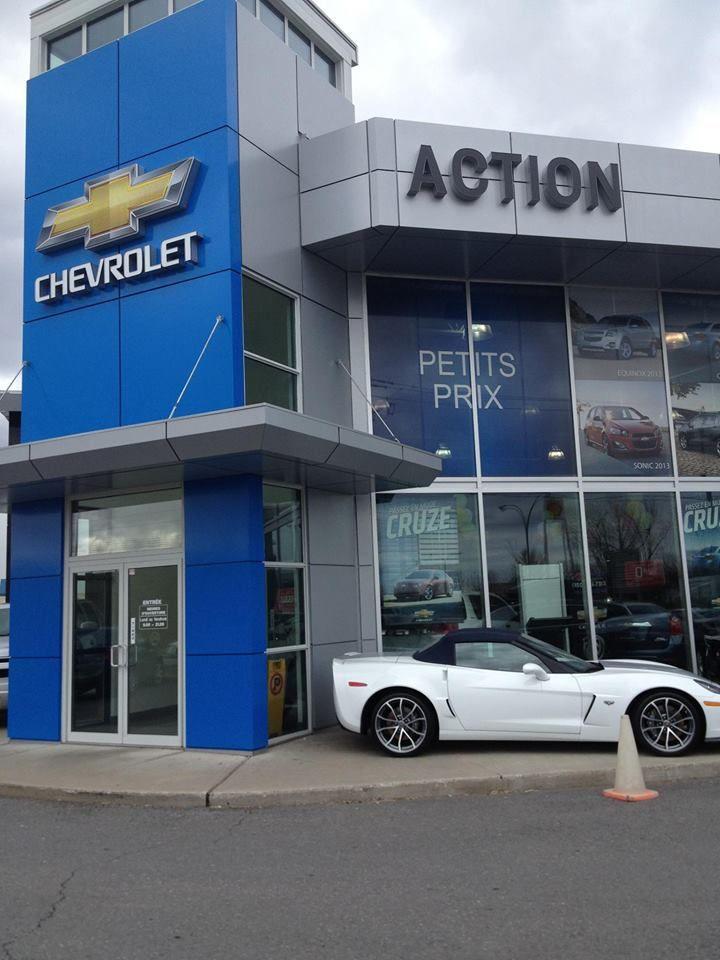L'entrée de votre concessionnaire favori ! | Chez Action Chevrolet